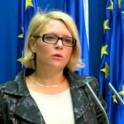 Ministrica MDDSZ Anja Kopač Mrak
