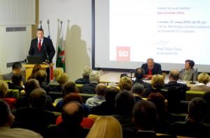 Dejan Židan na Konferenci SD