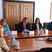 Delegaciji SLO in SRB v Beogradu