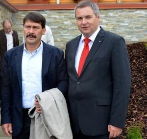 Janos Ader in Dejan Židan