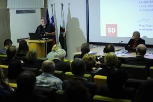 Miloš Pavlica na Konferenci SD