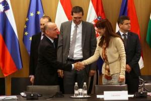 Ministrica Katič na zasedanju CEDC