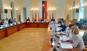 Zasedanje v Bratislavi