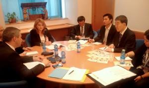 Židan s prestavniki Kitajske na zasedanju FAO