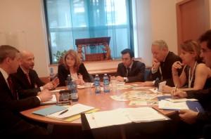 Židan s prestavniki Turčije na zasedanju FAO