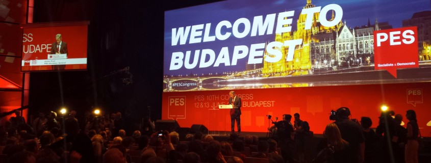 Kongres PES v Budimpešti