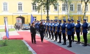 Ministrici SLO in BiH v Sarajevu