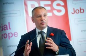 Sergej Stanišev predsednik PES