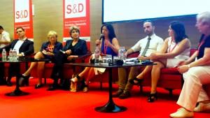 Tanja Fajon med debato na Kongresu PES