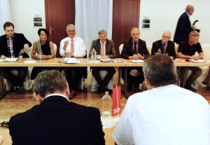 Avstrijska delegacija SPÖ Koroška na srečanju s SD