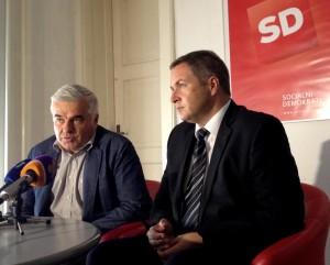 Izjava Donko in Židan za medije