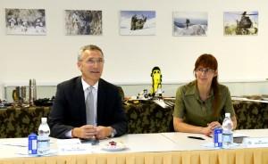 Jens Stoltenberg in Andreja Katič