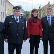 Ministrica Katič na gasilski slovesnosti v Žalcu