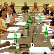 Srečanje delegacij SD in DS v Trstu