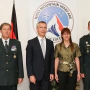 Stoltenberg s Katičevo in delegacijo SV