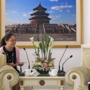Delovni obisk Tanje Strniša na Kitajskem
