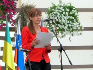 Govor ministrice Katič na Graški gori