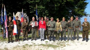 Ministrica Andreja Katič na Planini pri Podbočju