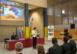 Ministrica Katič nagovorila športnike SV