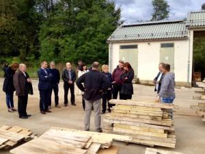 Obisk SD v Gospodarski coni Črnomelj