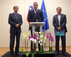 Predsedniki strank koalicije na NK po vrhu koalicije