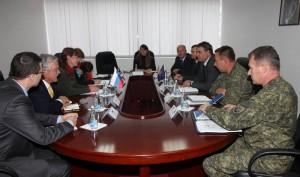 Srečanje delegacij