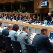 Zasedanje kmetijskih ministrov EU v Bruslju