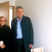 Anja Kopač Mrak prevzela stanovanje v Celju