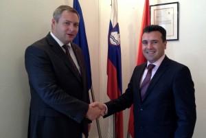 Dejan Židan in Zoran Zaev