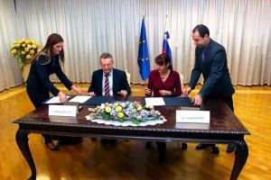 Podpis pogodbe MORS - CEB