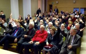 Glasovanje na Forumu starejših SD