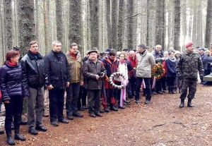Slavnostni gosti na Osankarici
