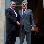 Ministra Židan in Le Foll