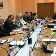 Ministrica Kopač Mrak z ministrom Nikiforovom