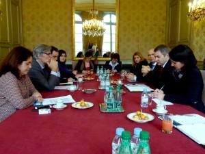 Srečanje kmetijskih ministrov Slovenije in Francije