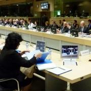 Židan na zasedanju Sveta EU