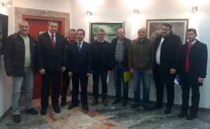Vodstvo SD in vodstvo občine Žiri