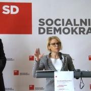 Dejan Židan in Anja Kopač Mrak