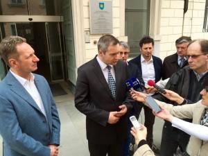 Izjava ministra Židana in župana Popoviča