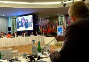 Židan na konferenci FAO