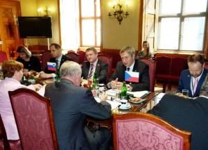 Židan v češkem Senatu