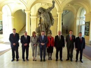 Ministri v Pragi