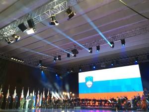Predsednik Pahor na osrednji slovesnosti ob dnevu SV