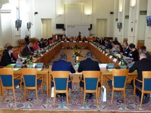 Zasedanje ministrov V4+4 v Pragi