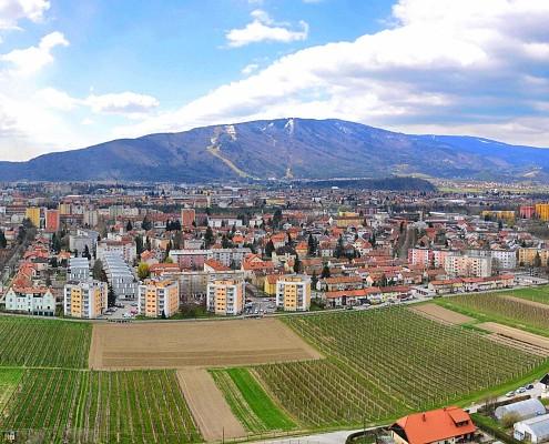 Maribor panorama Kalvarija