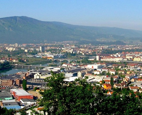 Maribor panorama mesta