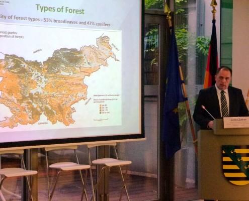 Posvet o gozdovih v Bruslju