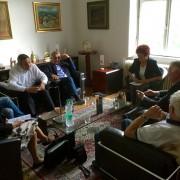 Srečanje SD - ZDUS na sedežu stranke