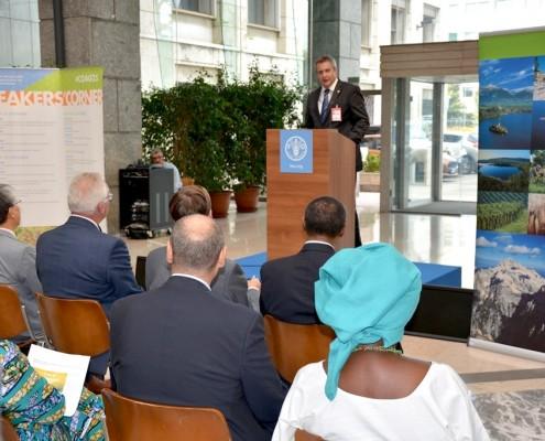 Židan na srečanju FAO v Rimu