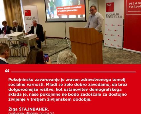 Žiga Štajnbaher -Konferenca Demografski sklad